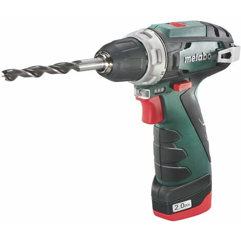 Metabo Powermaxx BS Basic Perceuse visseuse à batteries 10.8V Li-Ion (1x batterie 2.0Ah) dans coffret