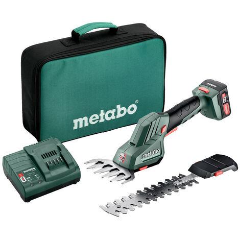 Metabo POWERMAXX SGS 12 Q (601608500) SCULPTE-HAIE ET CISAILLE À GAZON SANS FIL