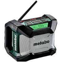 Metabo R 12-18 BT Radio da cantiere a batteria, Scatola di cartone - 600777850
