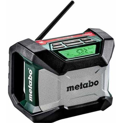 METABO Radio de chantier sans fil Bluetooth R12-18BT - 600777850