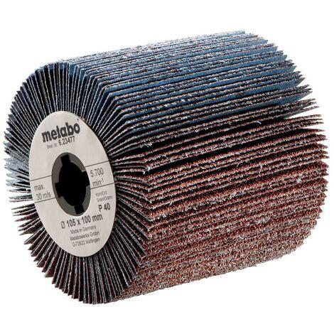 Metabo Roues abrasives à lamelles 105 x 100 mm, P 80 - 62347900