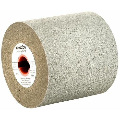 Metabo Roues abrasives caoutchouc 105 x 100 mm, P 60 - 62351000