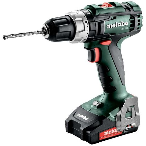 Metabo SB 18 L 18v Cordless Combi Drill With 2 x 2.0Ah Batteries