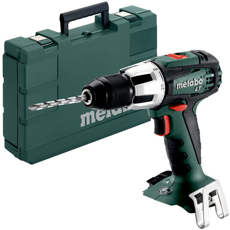 Metabo SB 18 LT 18v Cordless Combi Hammer Drill In Carry Case 602103840:18V