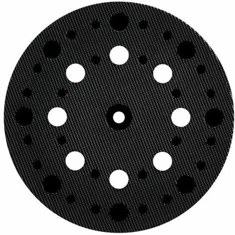 """METABO Schleifteller 125 mm, """"multi-hole"""", mittelharte Ausführung, mit Kletthaftung, für SXE 425 TurboTec, SXE 3125 (630261000)"""