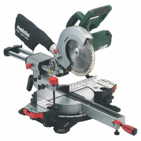METABO Scie a onglets radiale KGS216M 216 mm 1500 W
