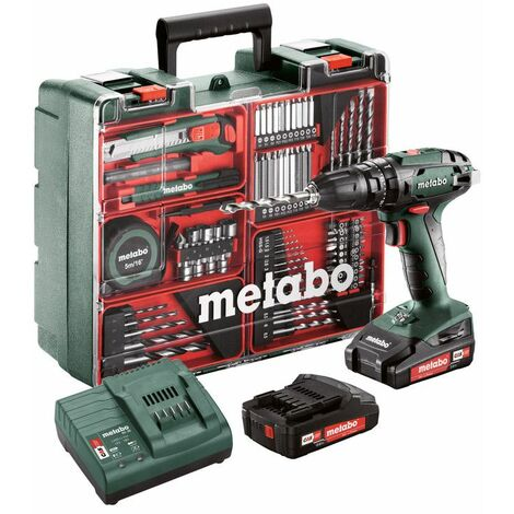 Metabo Set Perceuse à percussion sans fil SB 18 - 602245880
