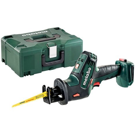 Metabo SSE 18 LTX 18v Compact Reciprocating Saw In Metloc 602266840