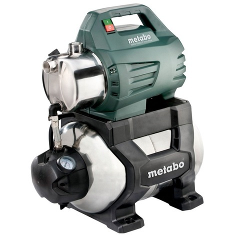 Metabo - Surpresseur avec réservoir 1300W 4,8bar 24L - HWW 4500/25 Inox Plus - TNT
