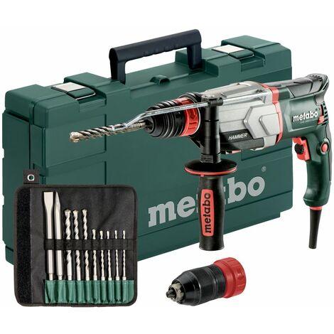 METABO Taladro percutor UHE 2660-2 Quick-Set 800 vatios