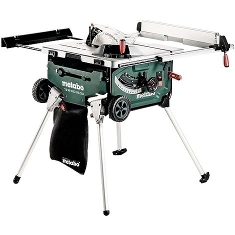 Metabo TS 36-18 Brushless Table Saw Body with Stand