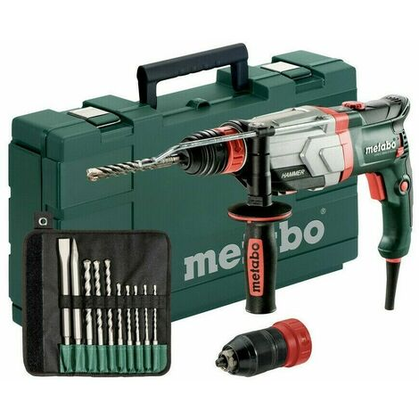 Metabo UHEV 2860-2 QUICK SET (600713510) MARTEAU MULTIFONCTIONS 3.4 J 1100 W