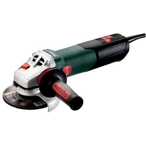 """Metabo W12-125 Quick 240V, 1250W 5"""" Angle Grinder"""