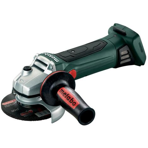 """Metabo W18LTX 115mm 4.5"""" Angle Grinder, Body Only + MetaLoc Case"""