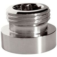 """Metal Adaptor Reduction for Water Faucet Tap 22mm Female to 1/2"""" BSP Male Joiner"""