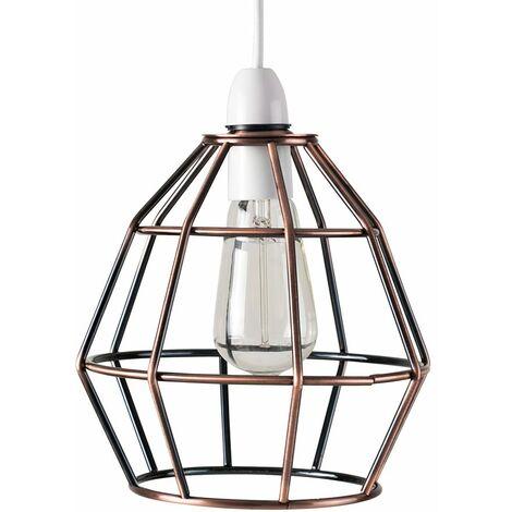 Basket Cage Pendant Ceiling Light Shade