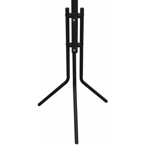 Metal Black Coat Stand QAH08588