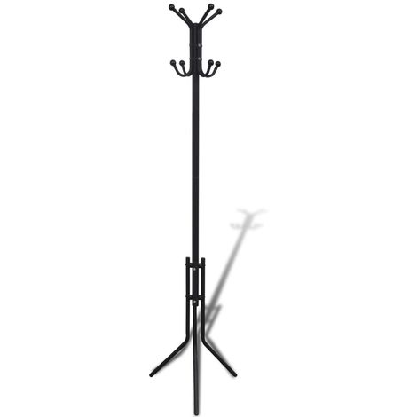 Metal Black Coat Stand VD08588