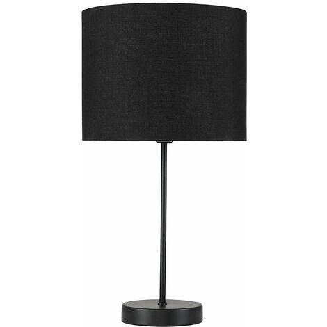 Metal Black Table Lamp Light Shades - Black - Black