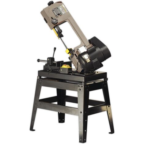 Metal Cutting Bandsaw 150mm 230V with Mitre & Quick Lock Vice