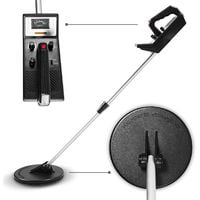 Metal Detector 150 cm Search Depth Waterproof Acoustic and Visual Indication