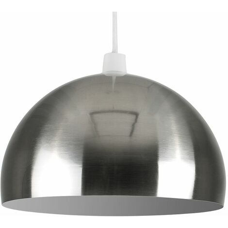 """main image of """"Metal Dome Ceiling Pendant Light Shade - Red"""""""