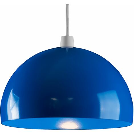 Metal Dome Ceiling Pendant Light Shade - Yellow