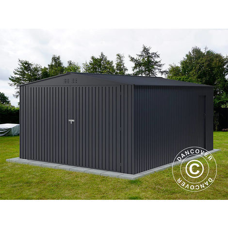 """main image of """"Metal garage 3.8x4.8x2.32 m ProShed®, Anthracite"""""""