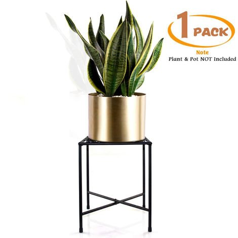 Metal iron plant flower pot stand display rack shelf holder home decor