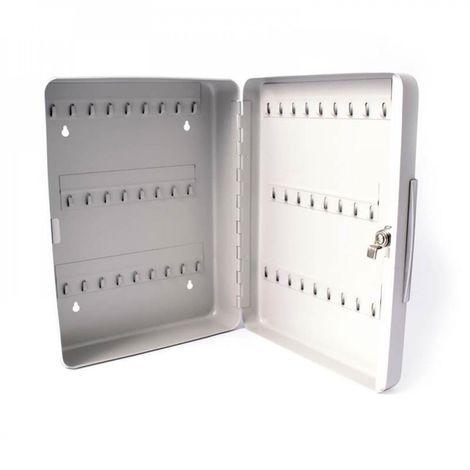 Metal key cabinet. 52 keys. Display cabinet
