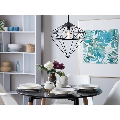 Metal Pendant Lamp Black ITON