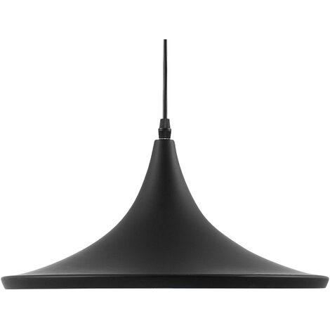Metal Pendant Lamp Black YAMUNA