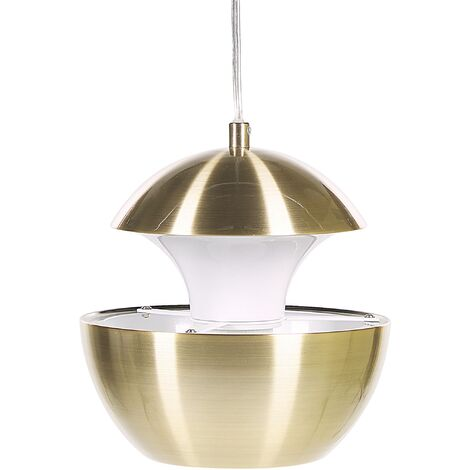 Metal Pendant Lamp Brass BOJANA