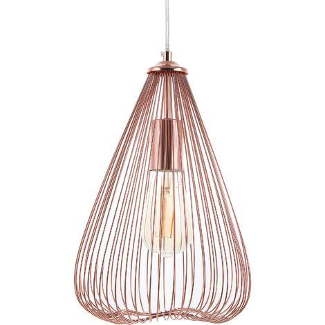 Metal Pendant Lamp Copper CONCA