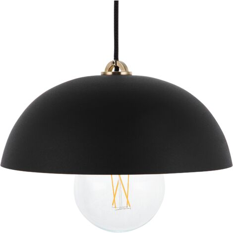 Metal Pendant Light Black TORDERA