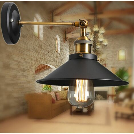 Métal Plafonniers Retro Lustres Lampe Edison Culot E27 Vintage