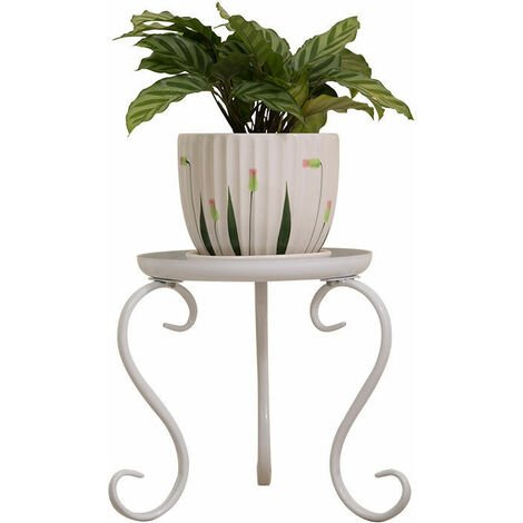 Metal Plant Stand Flower Pot Holder Display Shelf