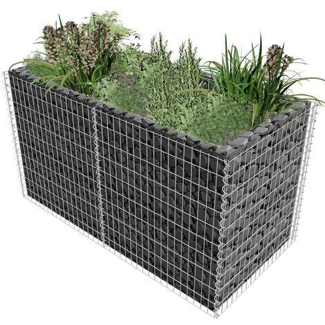 Metal Planter Box by Symple Stuff - Silver