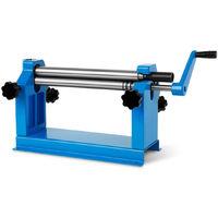 Metal sheet roller (305 mm roller, swing-out upper roller, smooth-running hand crank) Manual bending machine Slip roll