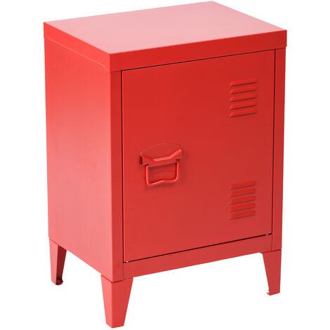 Metal steel metal filing cabinet storage cabinet cabinet cabinet handle shelf handle red powder coating