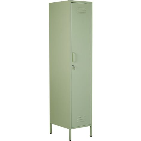 Metal Storage Cabinet Green FROME