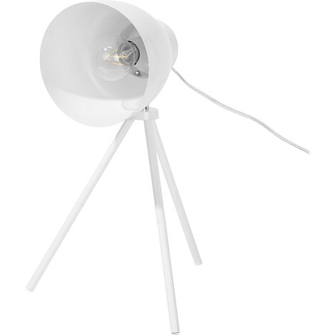 Metal Table Lamp White TAMEGA