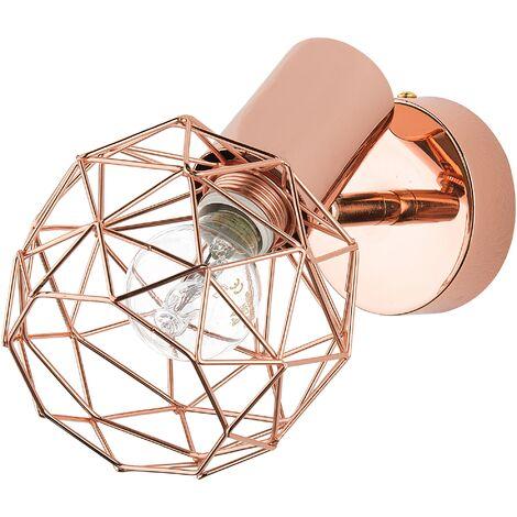 Metal Wall Lamp Copper CHENAB