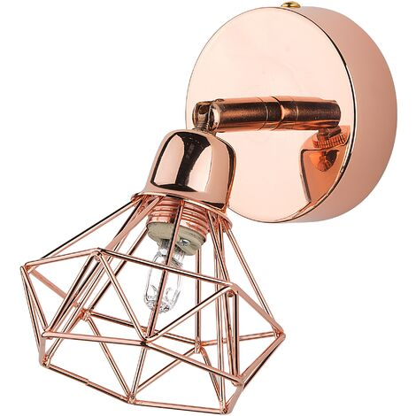 Metal Wall Lamp Copper ERMA
