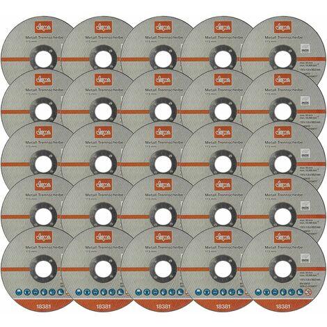 Metall Trennscheibe 25-er Set 115mm Flexscheibe Winkelschleifer Trennschleifer