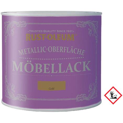 Metallic Moebellack Gold