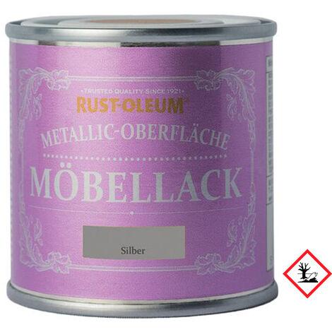 Metallic Moebellack Silber
