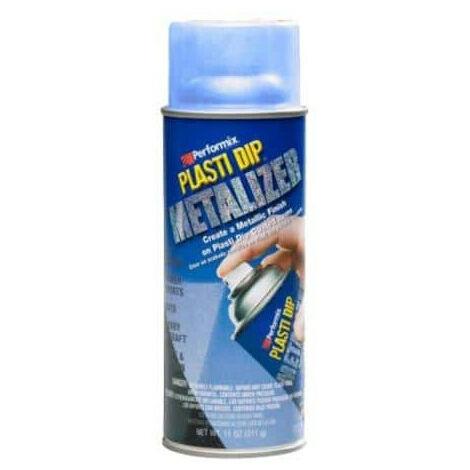 Metallic paint finish aerosol Plasti Dip 400ml blue