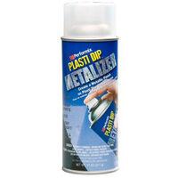 Metallic paint finish aerosol Plasti Dip silver 400ml