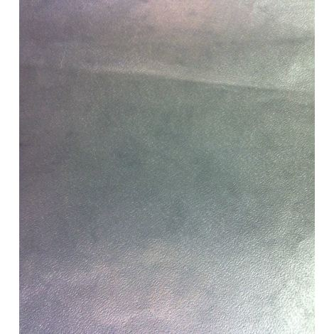 Metallic Silver Wallpaper Plain Modern Shiny Washable Paste The Paper